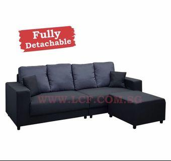 4 seater + ottoman offer sale