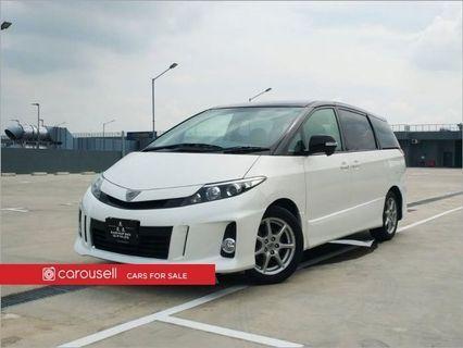 Toyota Estima 2.4A Aeras Premium Moonroof (New 10-yr COE)