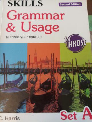 Grammar and usage second edition Set A