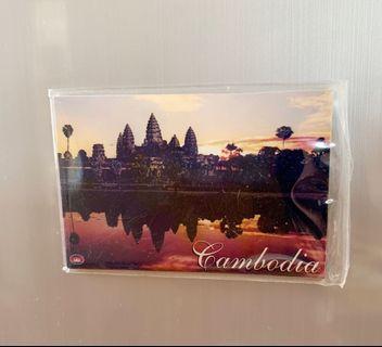 全新 磁貼 磁石 貼雪櫃 柬埔寨 吳哥窟 cambodia Angkor Wat 未用過 送禮自用 new