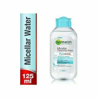 Garnier Micellar Cleansing Water biru 125 ML