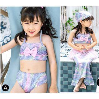 🚚 Mermaid Swimsuit 3pcs set (pre-order)