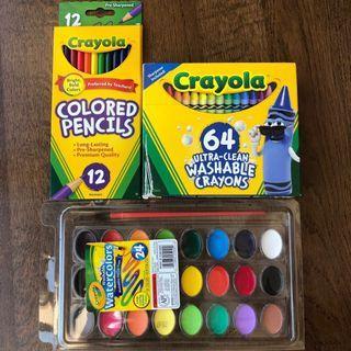 🚚 Crayola Colour Pencil and Watercolour