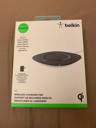 Belkin Wireless charging pad Qi for iPhone X xs max 8 無線 充電 Samsung