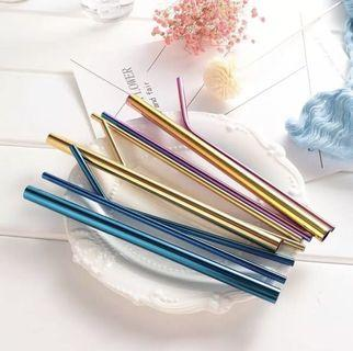 5 IN 1 STAINLESS STRAW