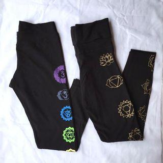 Bali Spirit Yoga Leggings (Lot of 2)