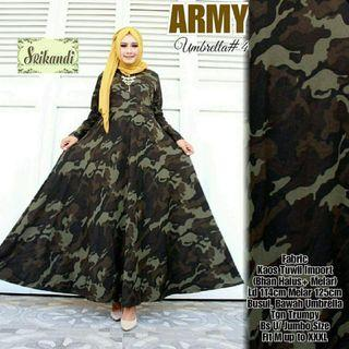 Army Design Jumbo Dress