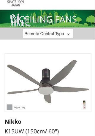 "KDK 60"" inch Ceiling Fan with installation"