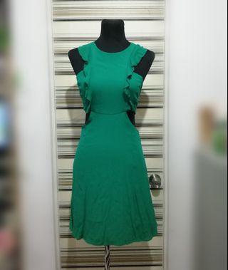 Bershka cut out dress