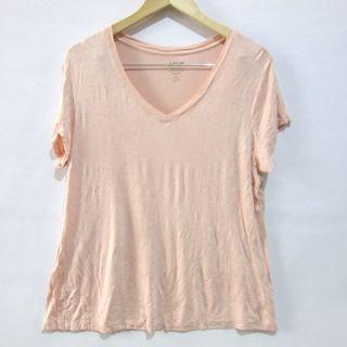 (XL-2XL) Apt.9 plus size ladies v-neck tee, relaxed soft and comfy fabric, super nice in actual, almost looks new