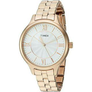 Women's Watch Timex Rose Gold Stainless Steel TW2R28000