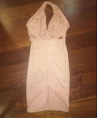 Nude Bodycon Dress (Brand New & Unworn)