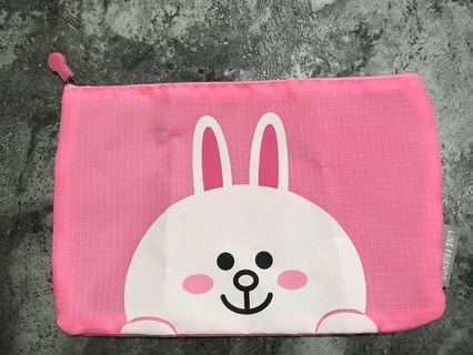 Line Friends 兔兔防潑水盥洗、洗漱、收納包