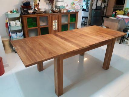 🚚 Hurry- Great Bargain : Teak  Dining Table