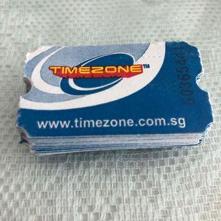 Timezone tickets 33 pcs