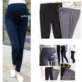Celana  Hamil Legging Panjang Tally Premium Bahan Tebal Super