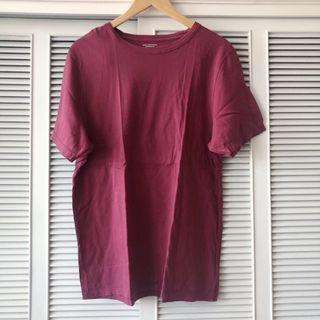 Urban Outfitters Maroon Men's Shirt