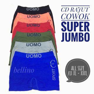 Celana Dalam Cowok Jumbo Boxer Uomo / Cd Boxer Pria Import