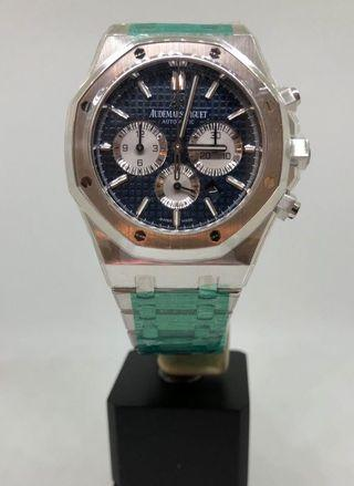 BN AUDEMARS PIGUET ROYAL OAK CHRONO BLUE DIAL