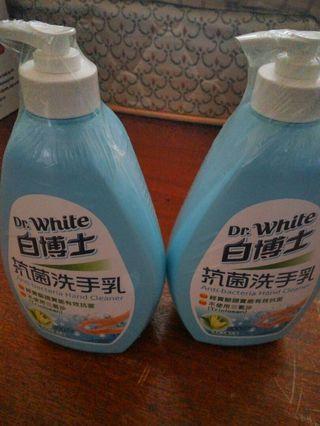 🚚 白博士洗手乳2瓶