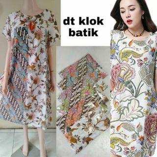 Daster Wanita Batik payung Klok Muat besar
