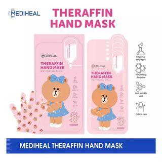 🚚 Mediheal LINE FRIENDS Theraffin Hand Mask