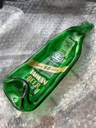 時髦台啤18週年紀念款酒瓶盤