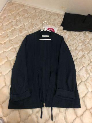 Kimono Indigo 棉麻 Visvim Kapital