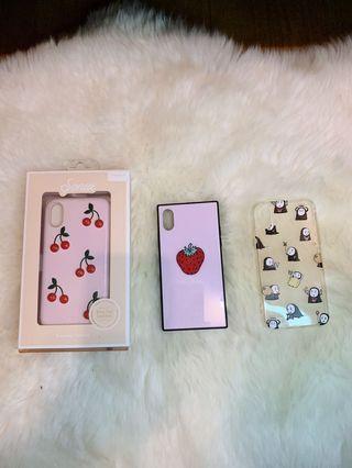 iPhone X/XS cases