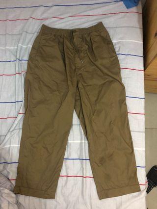 Uniqlo U Wide tapper chino pants