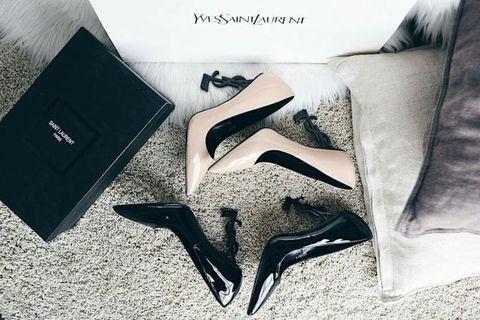 Sepatu heels ysl