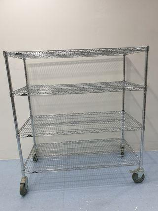 🚚 Stainless steel storage shelves