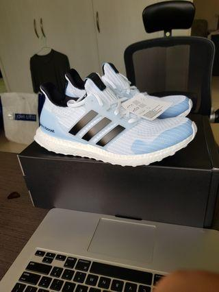 Game of thrones x adidas ultraboost white walker