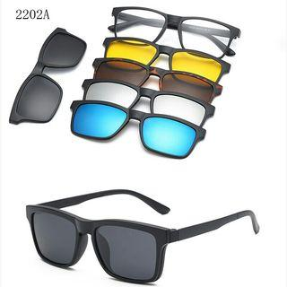 Polarised Magnet Clip Sun Glasses