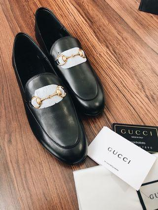 Leather Gucci Brixton loafers.. 100% new n gress!!