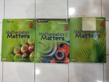 O Level Math Textbook (Singapore)