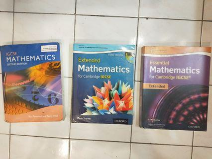 IGCSE Math Textbooks