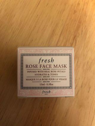 Fresh Rose Face Mask 15 ml