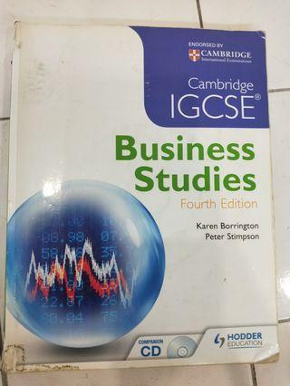 Cambridge IGCSE Business Studies Textbook