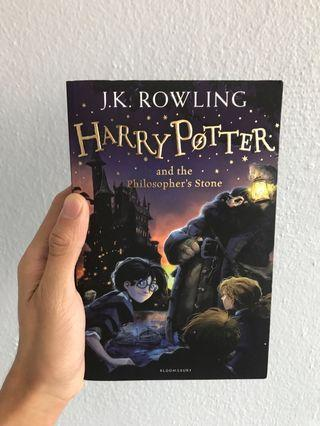 [ FLASH SALE ] Harry Potter and the Philosopher's Stone book
