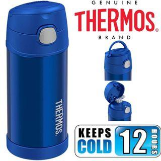 BN: Thermos Funtainer 12 Ounce Water Bottle, Blue