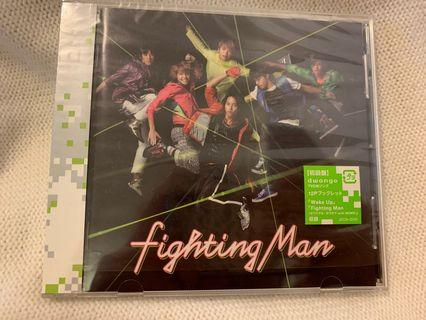 NEWS Fighting Man 日版初回