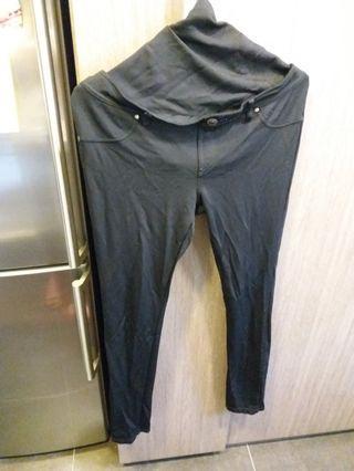 孕婦黑色長褲