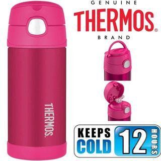 BN: Thermos Funtainer 12 Ounce Water Bottle, Pink