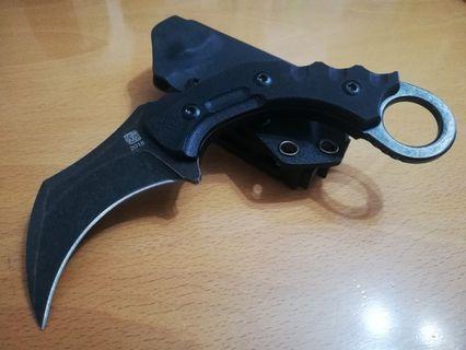 D2 高硬度高碳鋼戶外求生刀,露營刀,戰術刀,軍刀,虎爪刀。