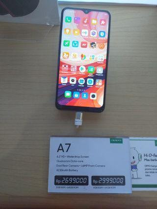 Oppo A7,bisa cicilan