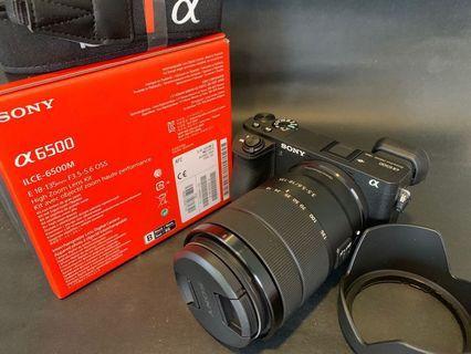 🚚 Sony A6500 with E 18-135 lens (like New)