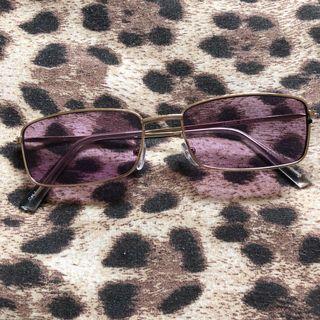 Purple Tinted Glasses