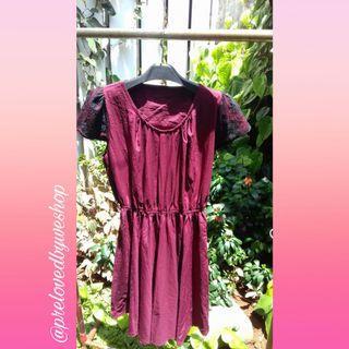 Dress marron