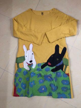 Design Tshirts Store graniph直身裙